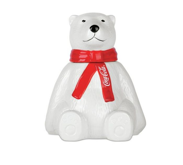 Coca-Cola Polar Bear Storage Jar - save 78%