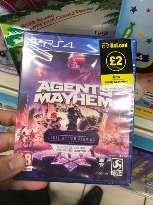 Poundland - Agents of Mayhem Ps4