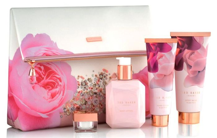 69b1622db Ted Baker Blush Bouquet Cosmetic Bag Gift Set - save £15