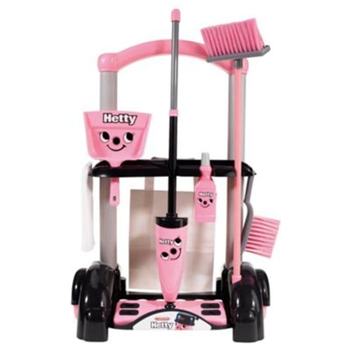 Casdon Hetty Toy Cleaning Trolley