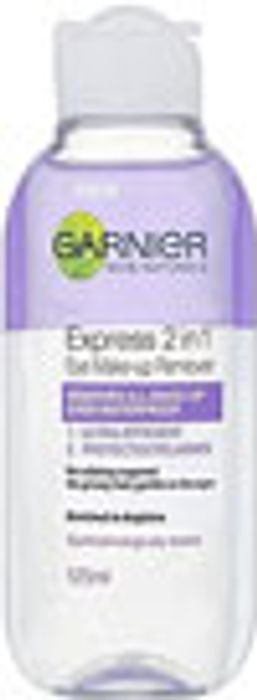 Garnier Skin Naturals Express 2 in 1 Eye Make up Remover - save 72%