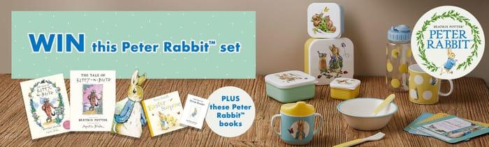 Win £100 of Peter Rabbit Goodies