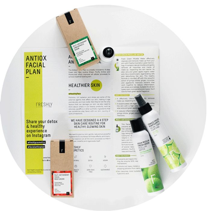 Get the Antiox Facial Plan: A Must-Have on Your Bath Essentials