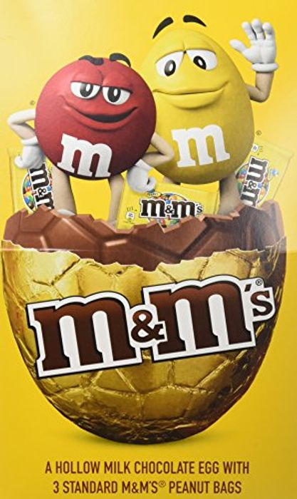 M&M's Peanut Extra Large Chocolate Easter Egg, Pack of 2