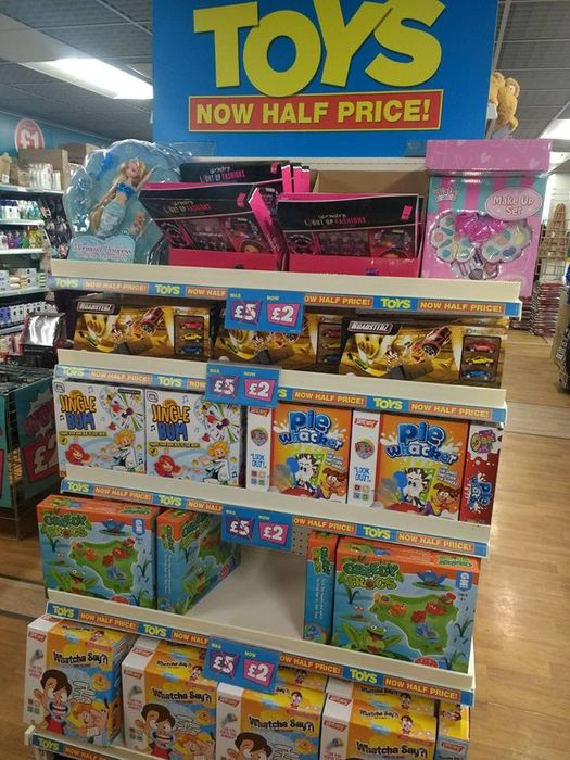 Toys Reduced from £5 to £2 in Liverpool Poundland ( Also Nationwide)