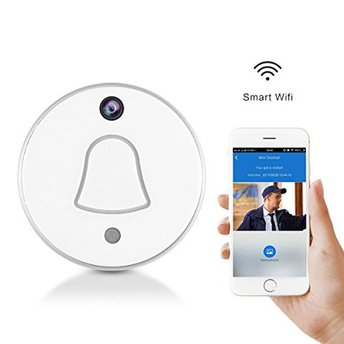 Smart Wireless WiFi Doorbell with Camera Free Delivery