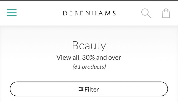 Upto 50% off Selected Beauty Gifts at Debenhams