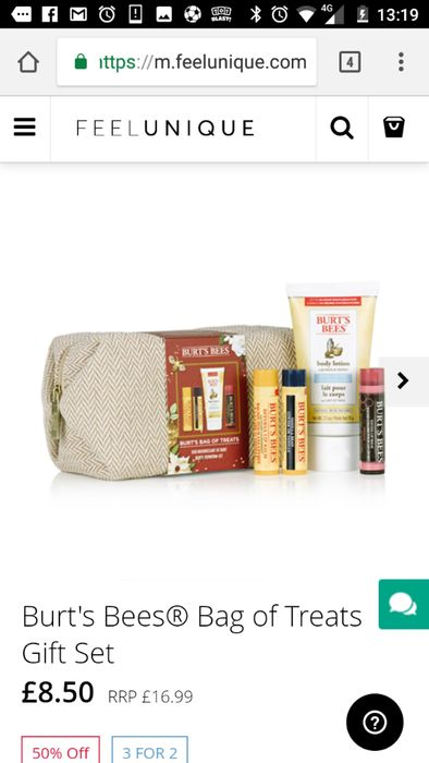 3 for 2 Burt's Bees Gift Sets