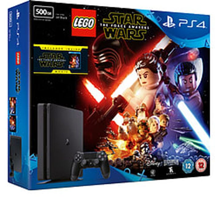 PS4 500GB Slim with LEGO Star Wars the Force Awakens Blu-Ray Best Price