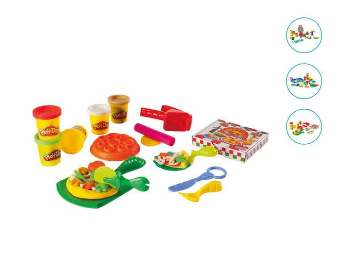 Lidl- from Thursday 22 March - Play-Doh Cookie Pizza or Burger Set