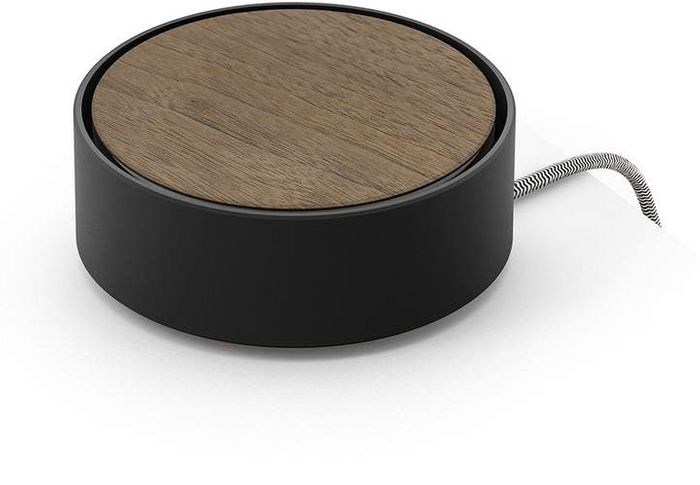 Eclipse Wooden Charger Black