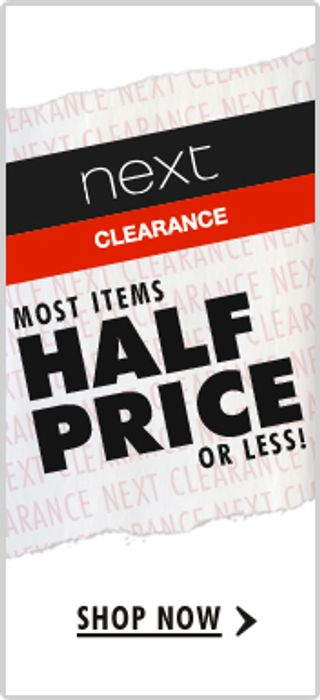 NEXT Clearance + the next MID-SEASON SALE START DATE