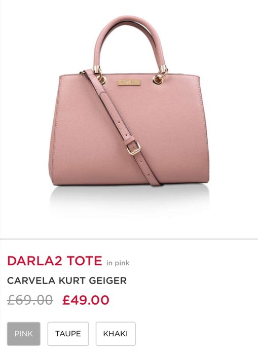Carvela Kurt Geiger Bag in 3 Colours