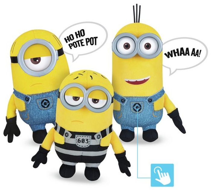 Despicable Me 3 Deluxe Plush Buddies Assortment Only £3.99 Each