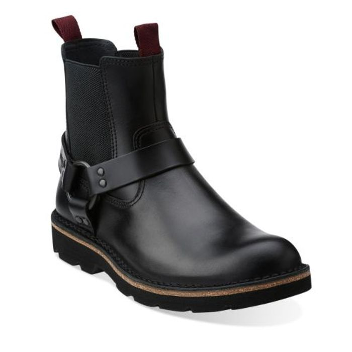 Mellor Top Black Leather Boots
