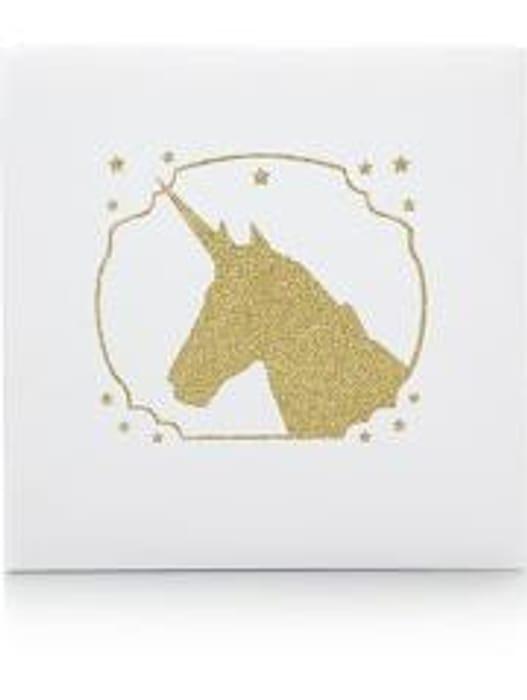Gold Glitter Unicorn Photo Album *HALF PRICE* Free C&C