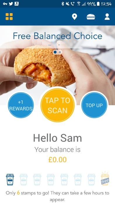 Free Balanced Bake on Greggs App