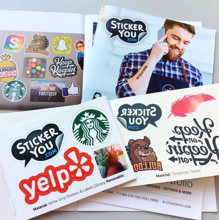 FREE Sticker & Tattoo Pack