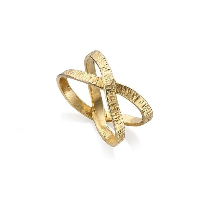 UP to 60% SALE !!! Golden Orbit Ring £10 Instead of £29