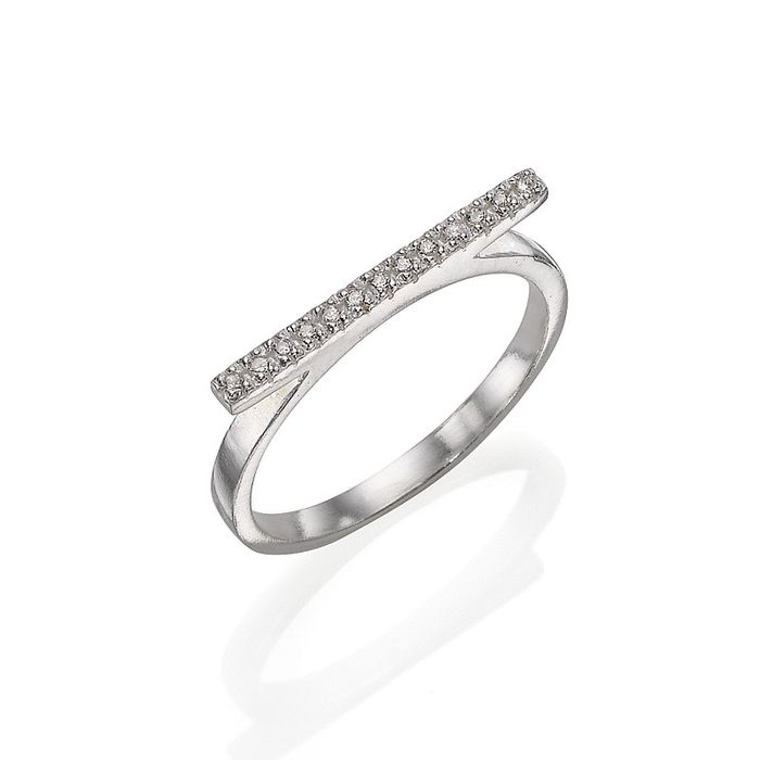 HUGE DISCOUNT on Sparkling Bar Ring at Pia.com