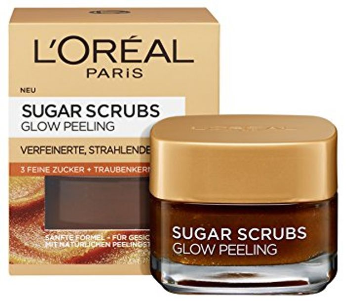 Free L'Oreal Sugar Scrub Sample - 80,000 to Be given Away!