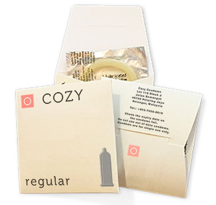 FREE Pack of 3x Cozy Condoms