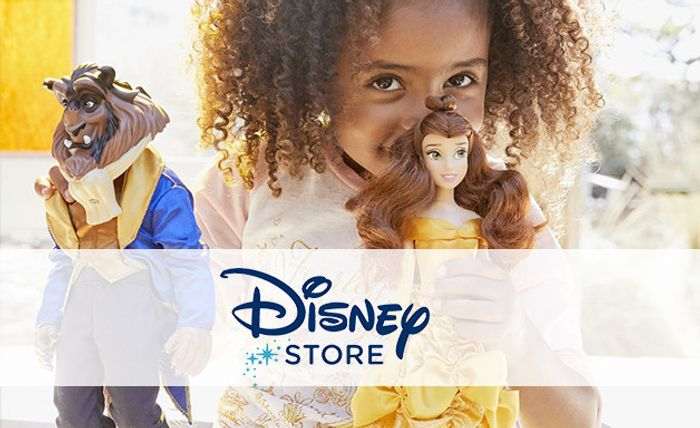 Exclusive 15% off Orders over £50 at Disney Store