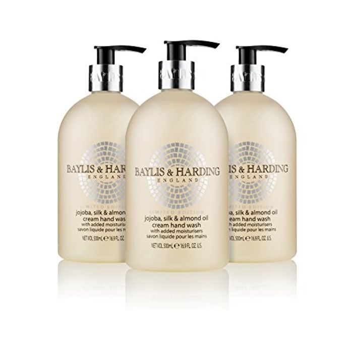 Baylis & Harding Jojoba, Silk & Almond Oil Hand Wash, 500 Ml, Pack of 3