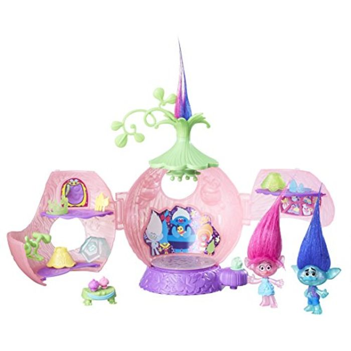 Trolls DreamWorks Poppy's Coronation Pod Playset