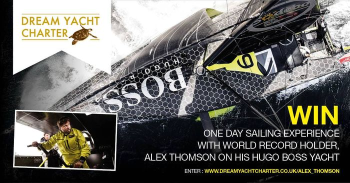 Win a One Day Sailing Experience with World Record Holder Alex Thompson