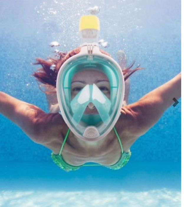 Go Pro Compatible Snorkel Mask - Only £18.99, WAS £64.99!