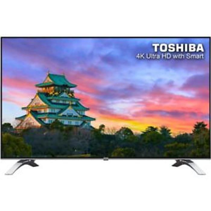 Toshiba 55 Inch Smart LED TV 4K Ultra HD Freeview HD at AO/ebay