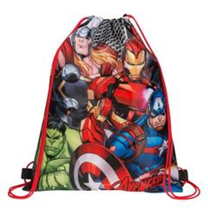 Marvel Avengers Drawstring Sports Gym Bag