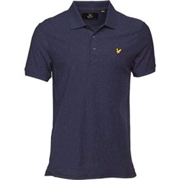 Lyle and Scott Vintage Brushed Flecked Polo