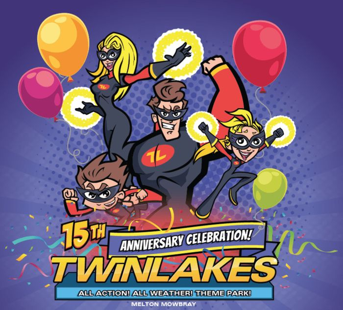 Win 15 Fantastic Prizes at Twinlakes Park!