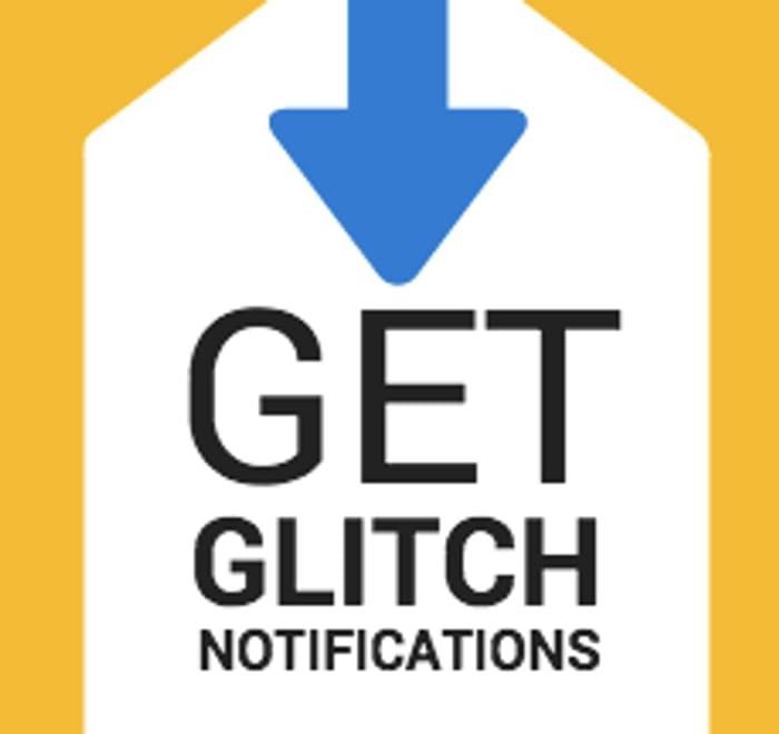 Get Glitch Alerts by Facebook Messenger