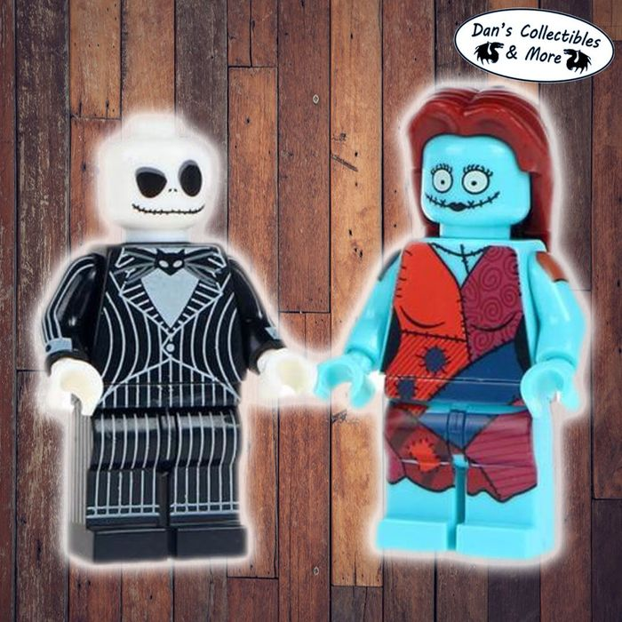 Free Nightmare before Christmas Lego Du0 for Free with P+P Cost