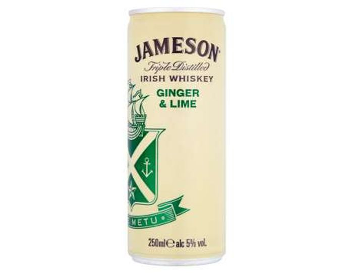 Free Jameson Ginger and Lime 250ml with Checkoutsmart
