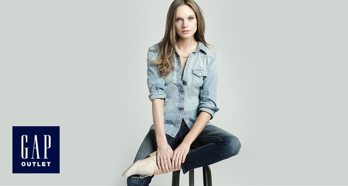 Gap Outlet 50% off Everything + Extra 10% off plus up to £45 Back in Vouchers