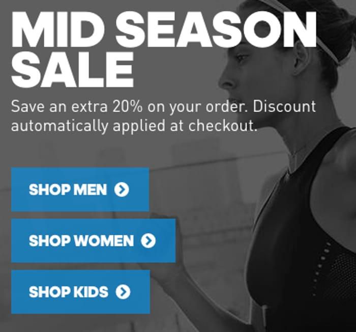 Adidas 70% off Sale + Extra 20%