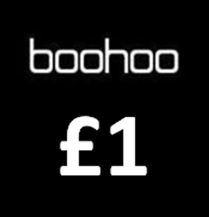 Boohoo Flash Sale £1! £2!