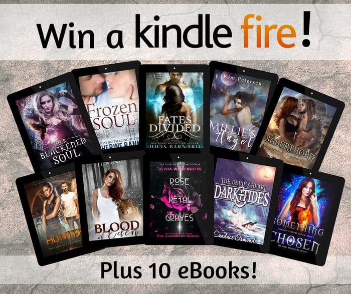 Win a Kindle Fire + 10 Ebooks
