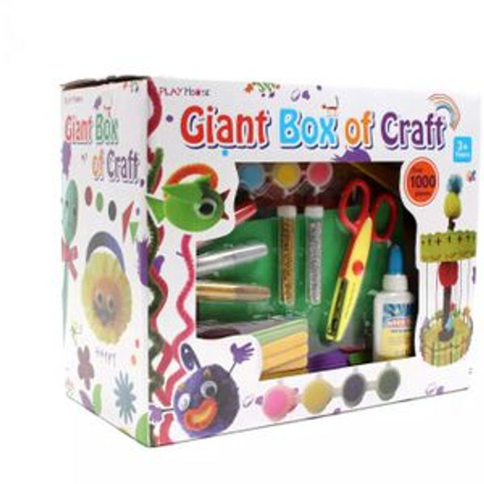 Hobbycraft - Giant Box of Craft - over 1000 Pieces