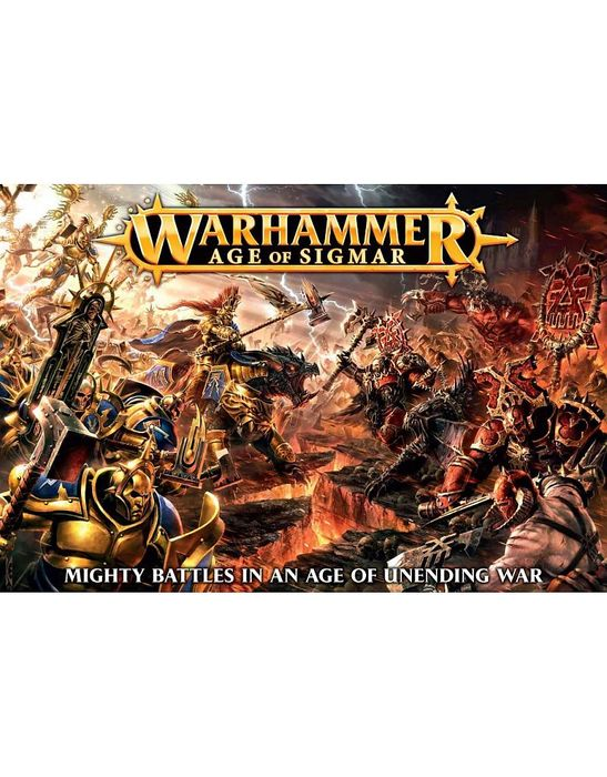Warhammer: Age of Sigmar, Core Game. 20% Off