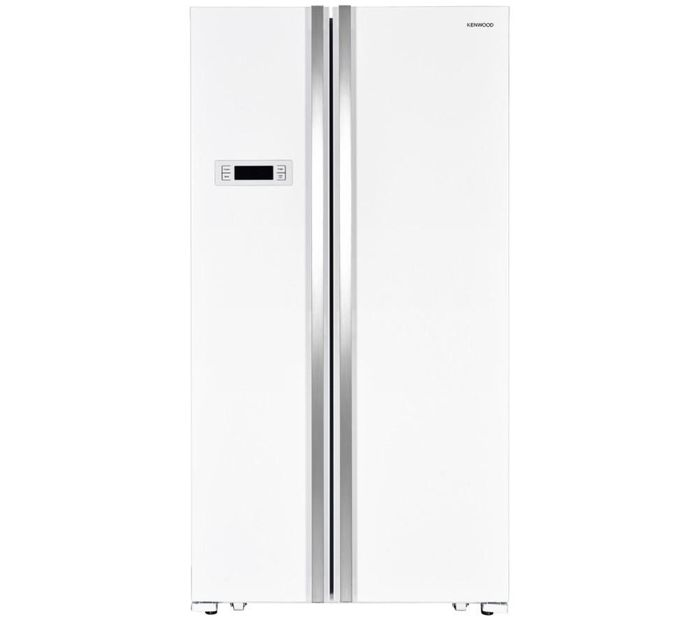 KENWOOD American-Style Fridge Freezer - White £341.99 with Code