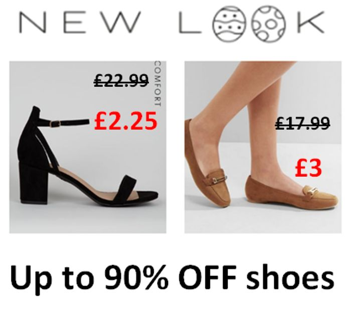 NEW LOOK - up to 90% off SHOES