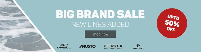Big Brand Sales up to 50% off - WETSUITOUTLET