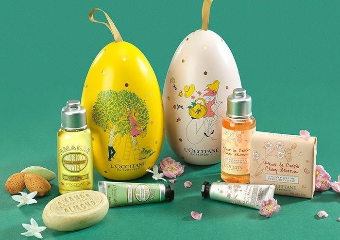 Win 1 of 2 L'Occitane Eggs, Filled with Skincare Goodies