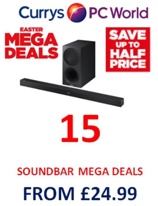 Want a SOUNDBAR? Get a MEGA DEAL!