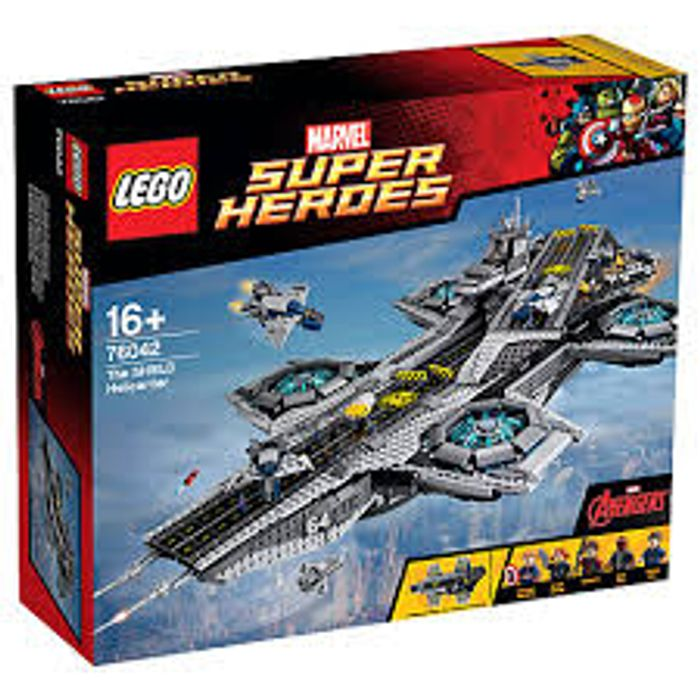 LEGO Marvel Super Heroes 76042 the Shield Helecarrier at John Lewis